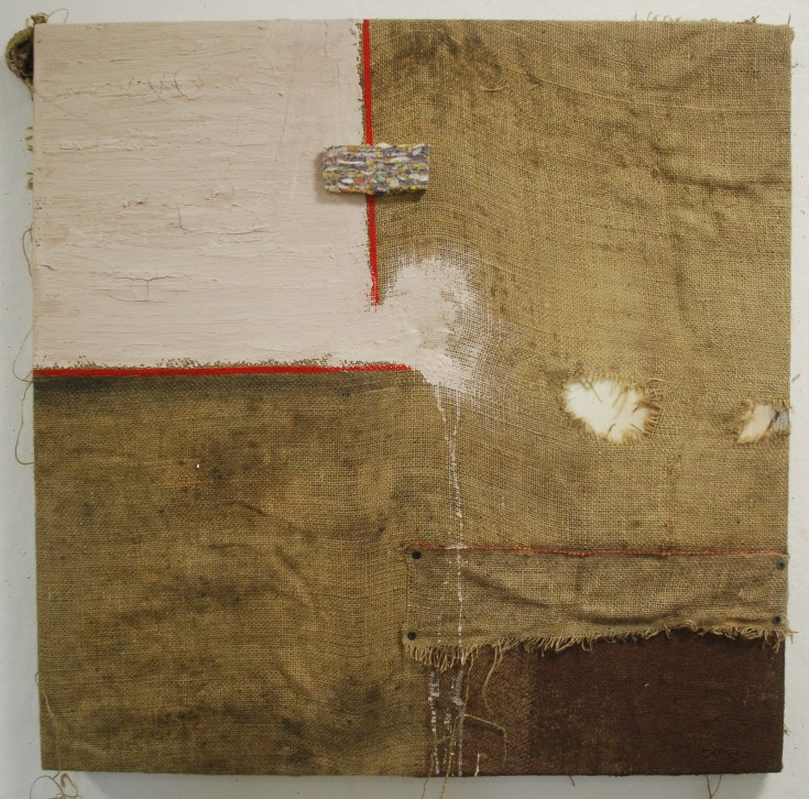 """Square"", Mixed Medium, 30"" x 30"", 2014"