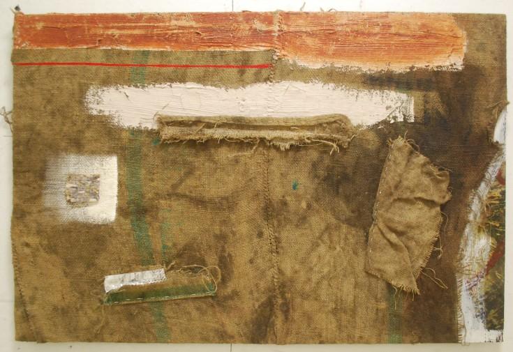 """Untitled"", Mixed Medium, 48"" x 32.5"", 2014"