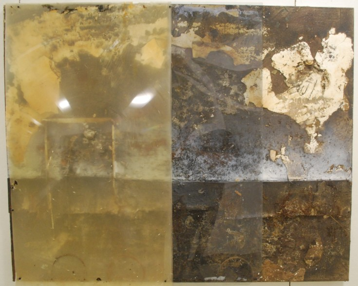 """Deuterocanonical"", Mixed Medium, 60"" x 48"", 2014"