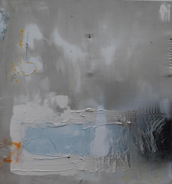"""""""Theory"""", Mixed Medium, 52"""" x 48"""", 2015"""